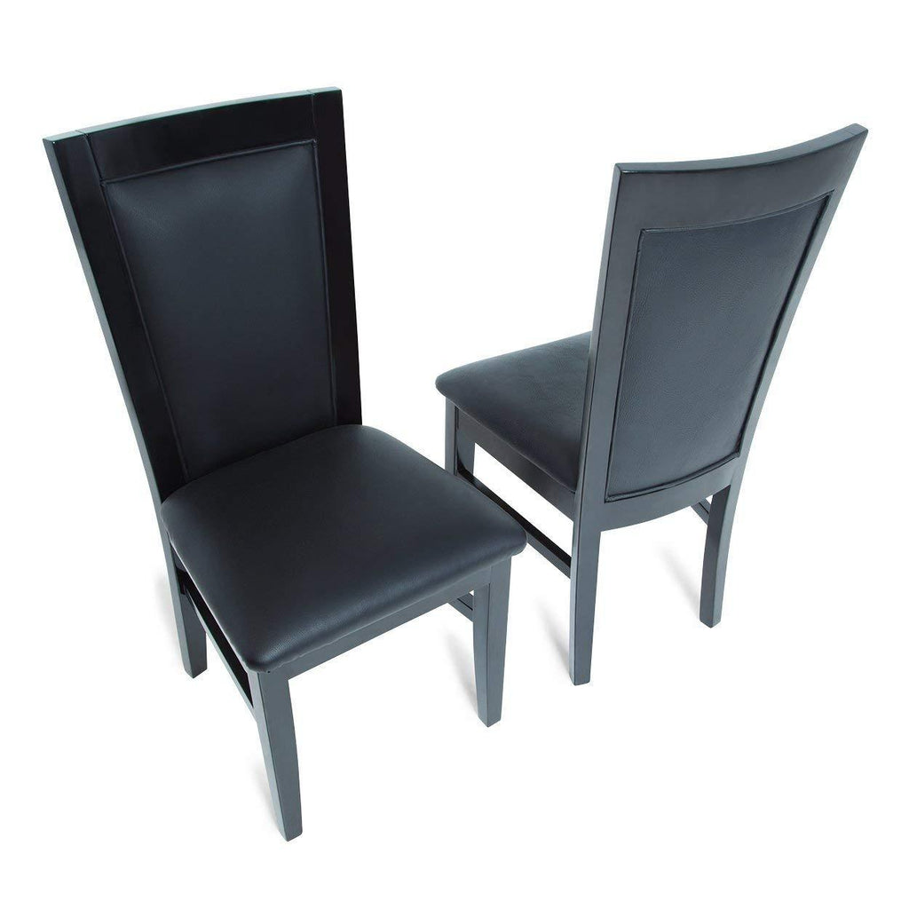 Complete Set of 10 Black BBO Poker Table Chairs