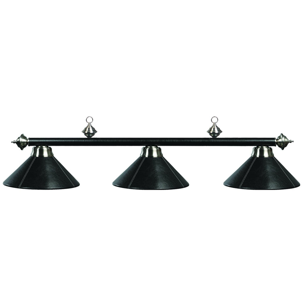"3 LT-54"" Billiard Light-Leather/Black"