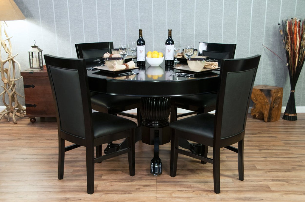 BBO Poker Table Chair - Black or Mahogany