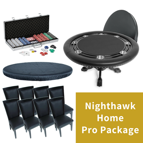 Image of BBO Poker Table X8 Home Pro Package