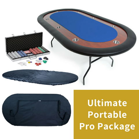Image of BBO Portable Poker Table Pro Package