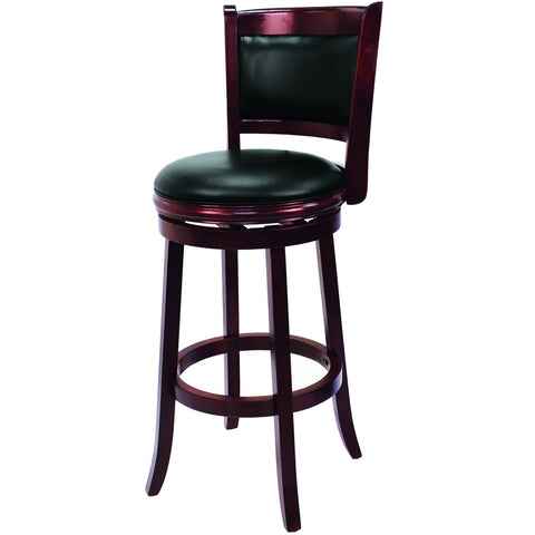 Ram Game Room Classic Swivel Backed Bar Stool