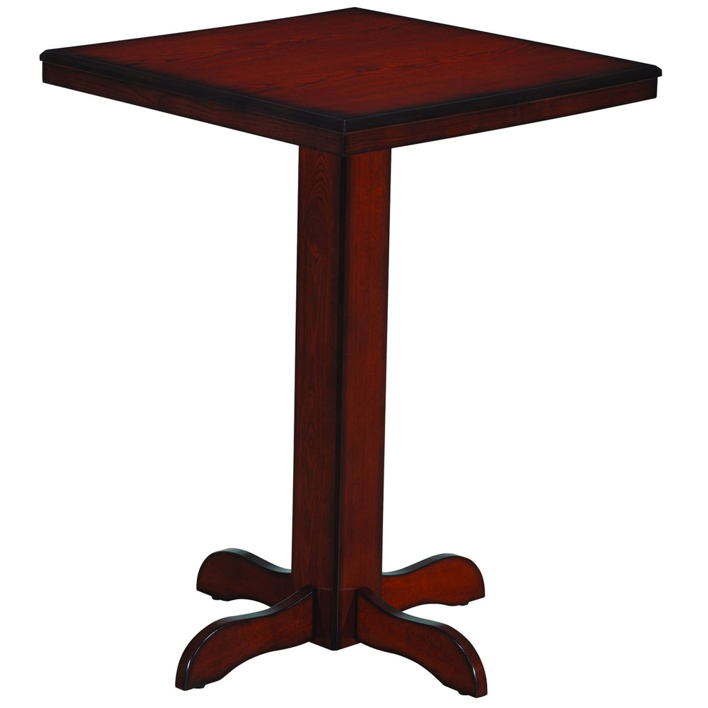 "Ram Game Room 30"" Square Pub/Bar Table"