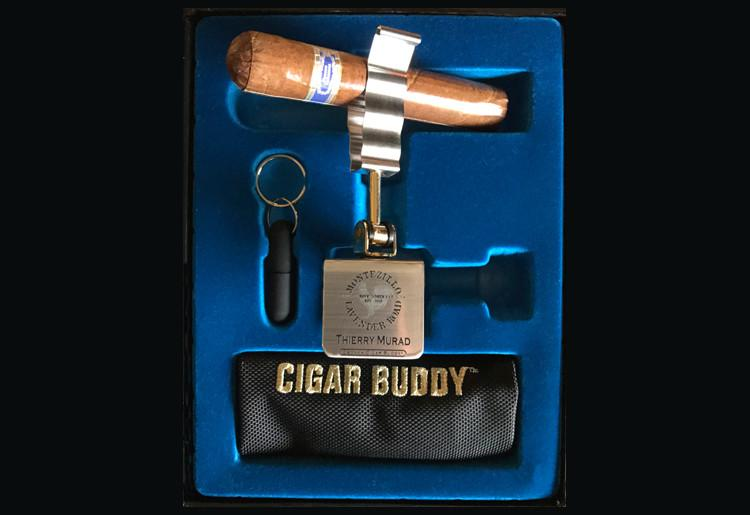 Csonka Cigar Buddy Gift Set & Vice with Engraving