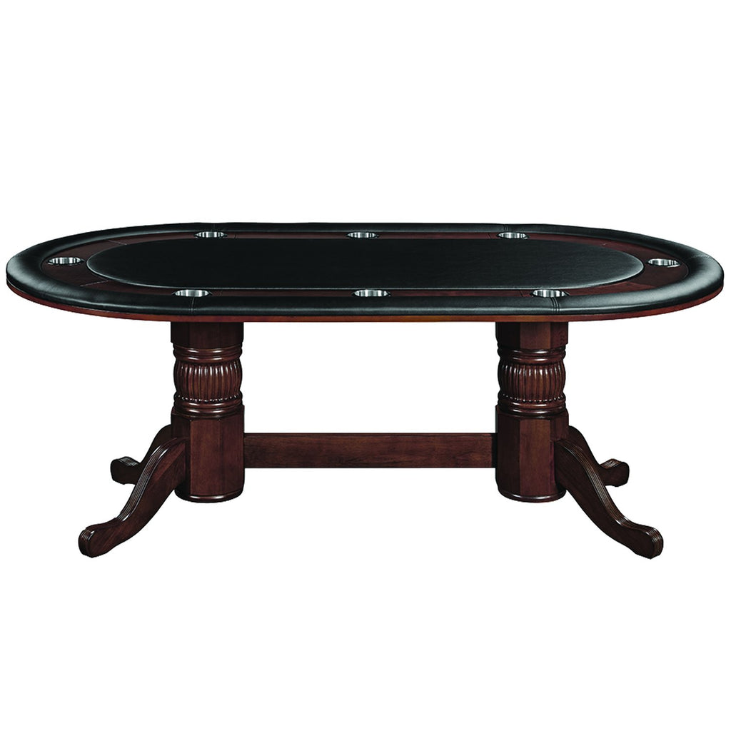 "Ram Game Room 84"" Round Texas Hold'em Poker Table"