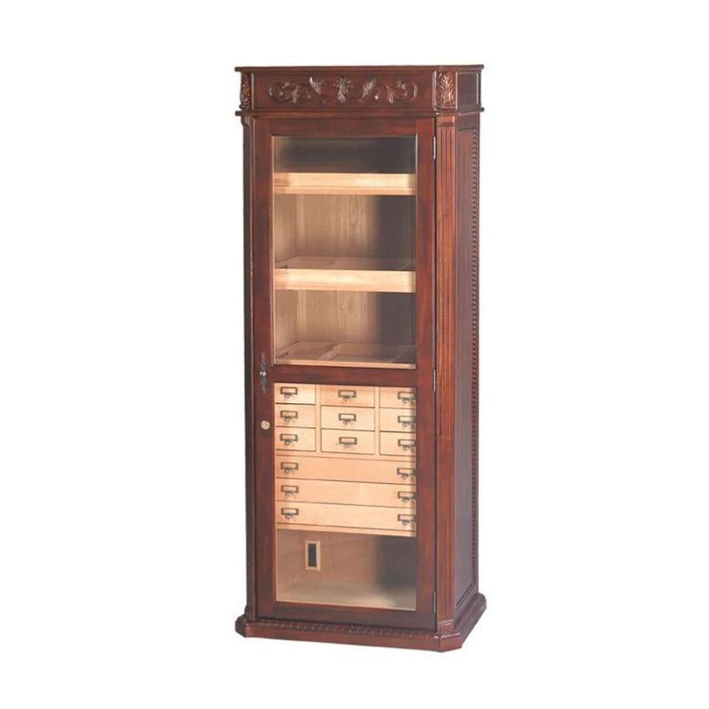 Olde English Display Cabinet Humidor by Quality Importers