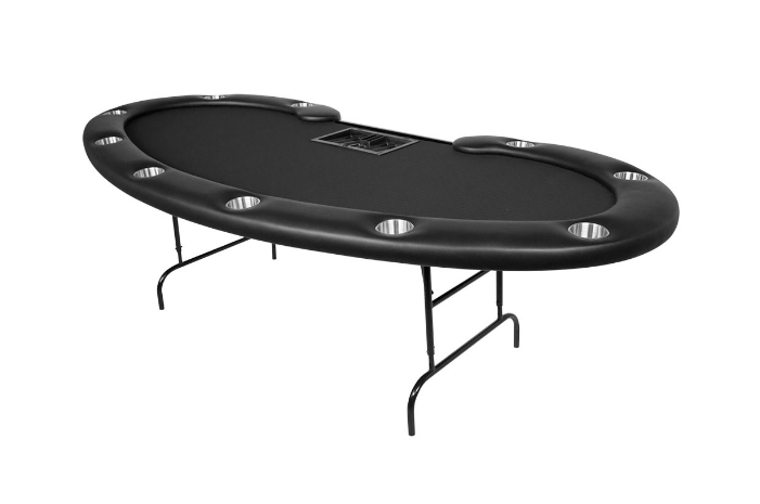 BBO Prestige Folding Leg 10 Person Poker Table