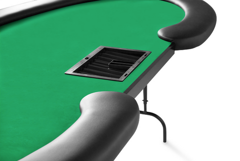 Image of BBO Prestige Folding Leg 10 Person Poker Table