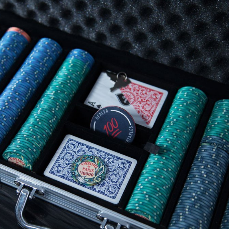"BBO ""Casino de Paris"" 10G Ceramic Poker Chip Set (500PC)"
