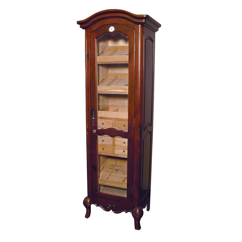 Humidor Cigar Tower Display with Shelves