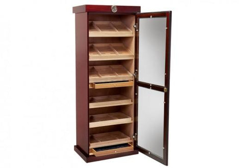 Image of Prestige Barbatus Cherry Finish 2000 Cigar Humidor