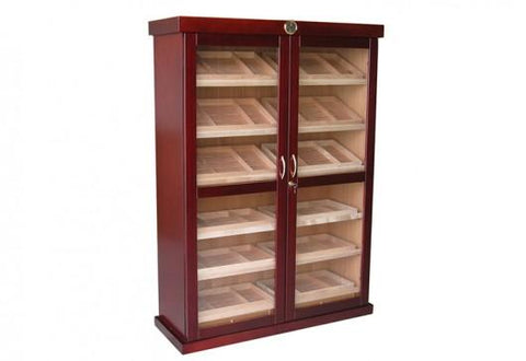 Image of Prestige Bermuda 4000 Cigar Cherry Finish Humidor