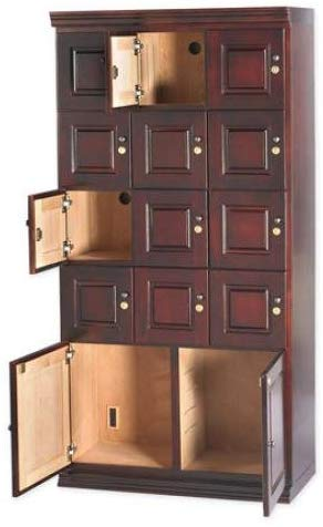 Image of Humidor Cigar Locker Wall Cabinet by Quality Importers