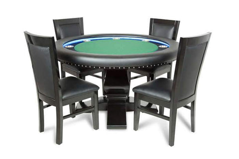 Image of BBO Ginza Round LED Lit 8 Player Poker Table
