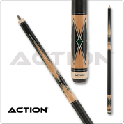 Action Classic - Maple & Black and Green Diamonds
