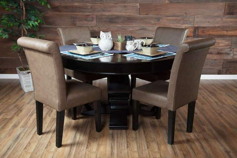 Image of Nighthawk and Ginza BBO Black Round Dining Top