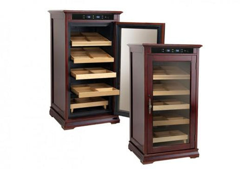 Image of Prestige Redford 1250 Cigar Dark Cherry Humidor