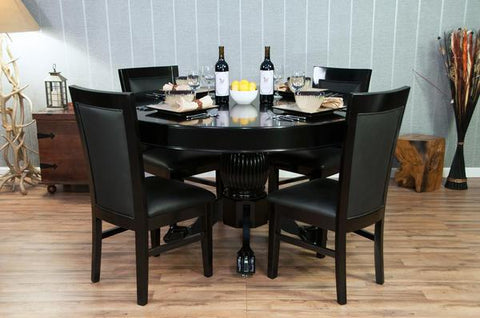 Nighthawk and Ginza BBO Black Round Dining Top
