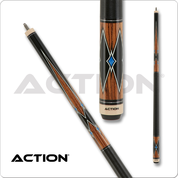 Image of Action Classic - Zebrawood & Black and Blue Diamonds