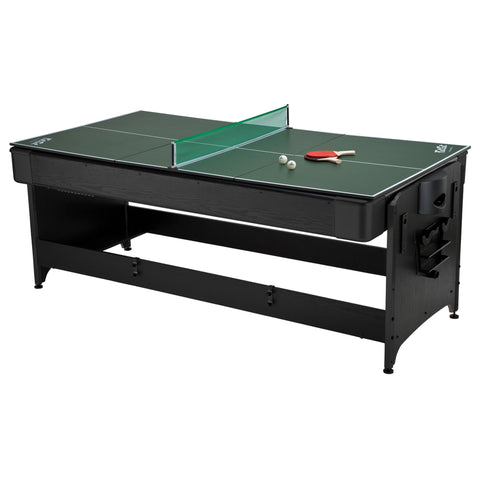 Image of Fat Cat Original Pockey 3-In-1 Table Tennis/Pool/Air Hockey Game Table