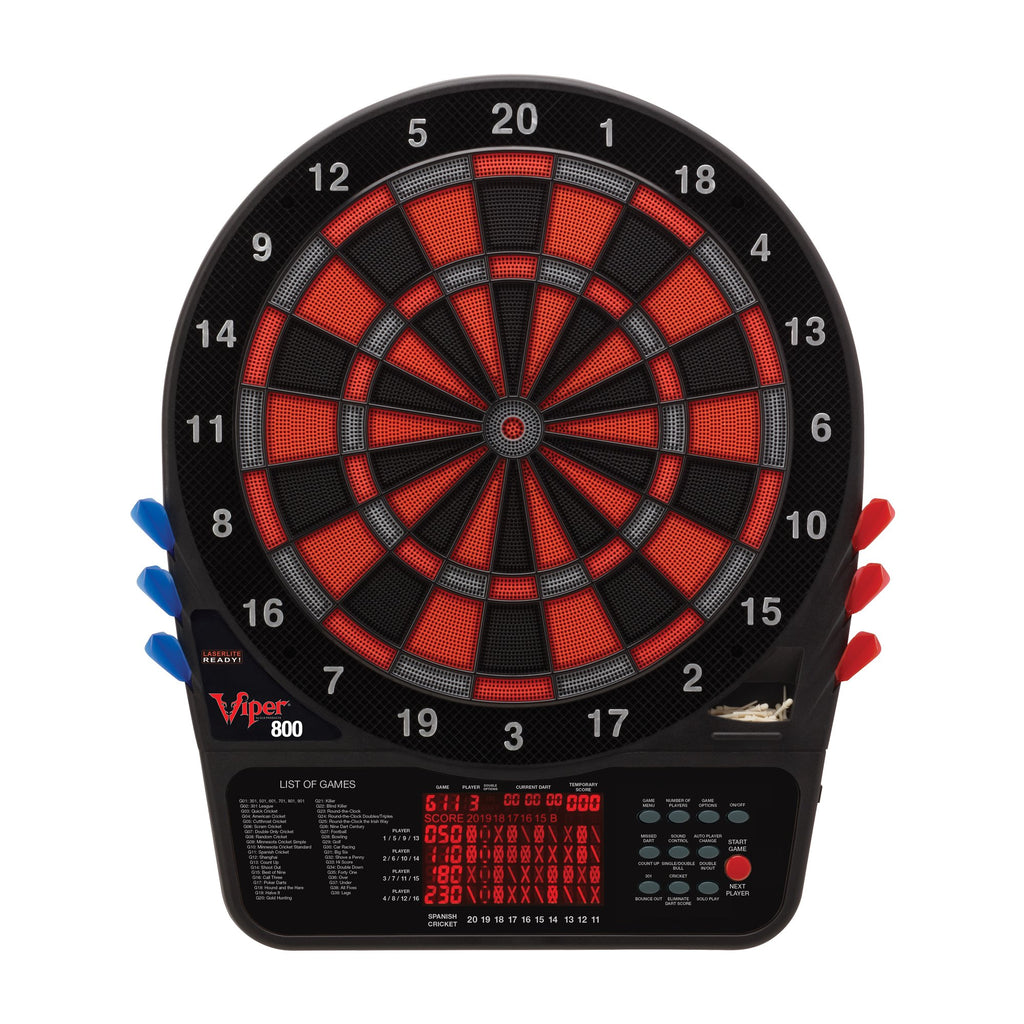 Viper 800 Electronic 57-Game Dartboard