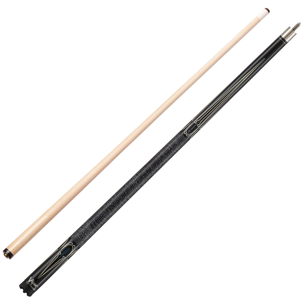 Viper Sinister Series Cue with Black/White Design