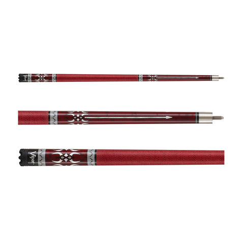 Image of Viper Sinister Series Cue with Red Wrap