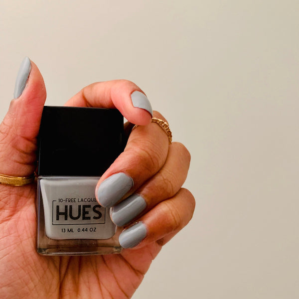 elephant gray nail polish