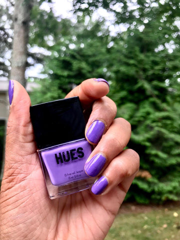 orchid purple nail polish