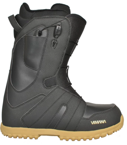 Vimana Continental Boot Black/Gold