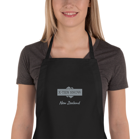 X-Ten Workshop Embroidered Apron