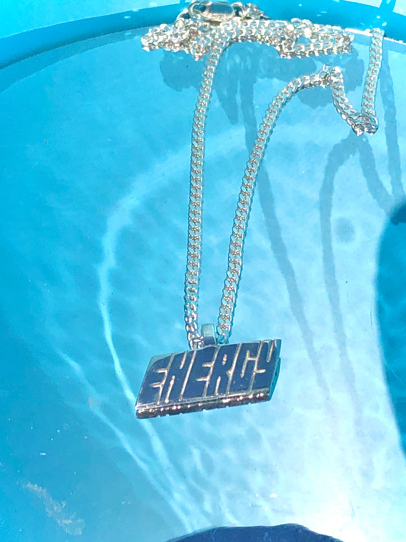 Put In The Game (Energy) Necklace