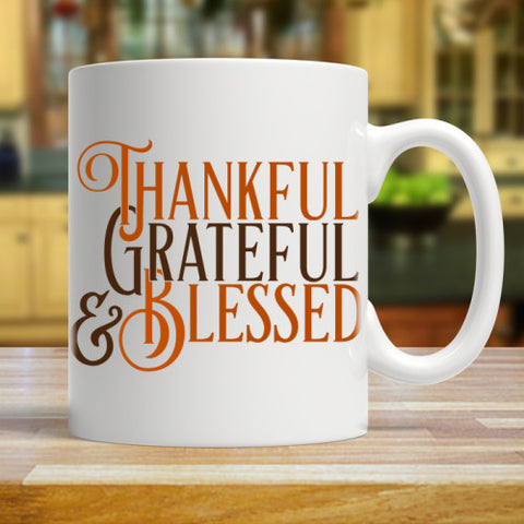 Image of Thankful Grateful & Blessed