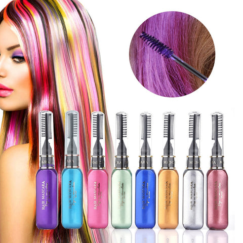 (8 Pack) Limited Edition Washable Hair Dye Pen