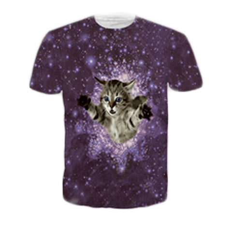 SpaceTime Kitty Tee