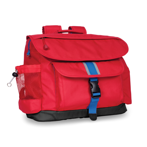 """Signature Backpack and Pencil Case"" Bundle - Red - Bixbee"