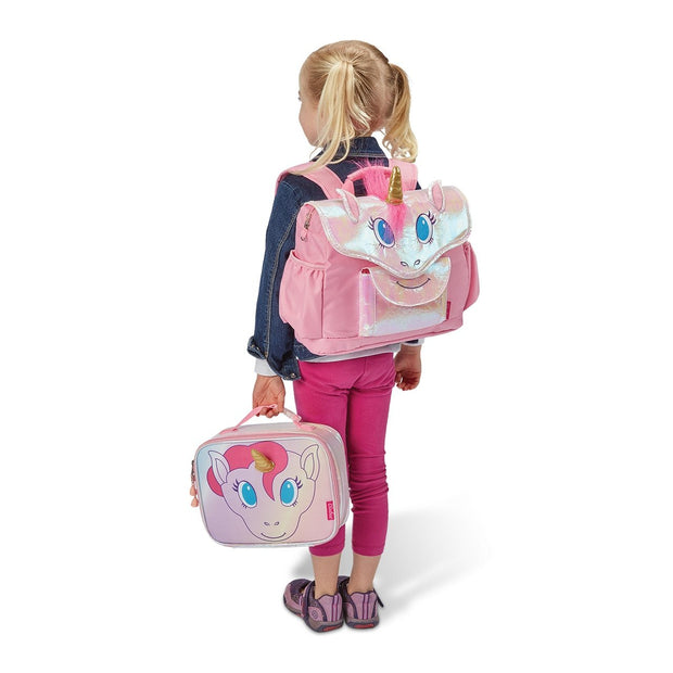 """Unicorn"" Backpack  & Lunchbox Bundle - Small - Bixbee"