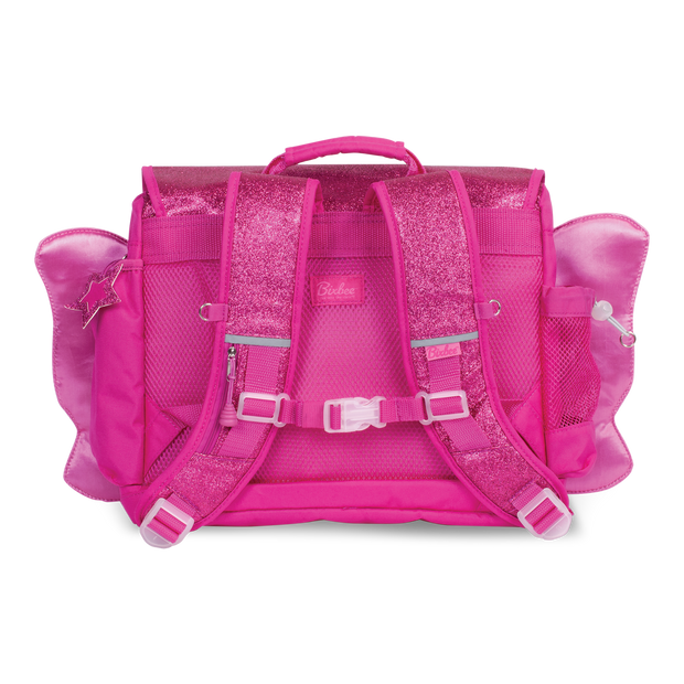 """Sparkalicious Ruby Raspberry Butterflyer"" Backpack & Lunchbox Bundle - Medium - Bixbee"