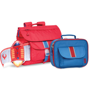 """Firebird Flyer"" Backpack & Lunchbox Bundle - Medium - Bixbee"