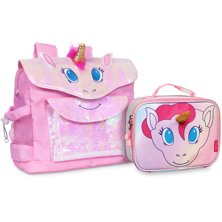 Medium Unicorn Pack & Lunchbox Bundle