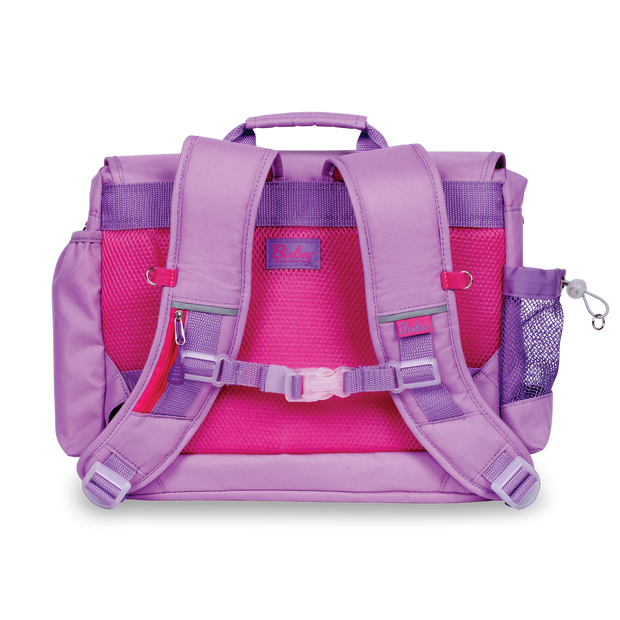 """Signature Backpack and Pencil Case"" Bundle -  Purple - Bixbee"