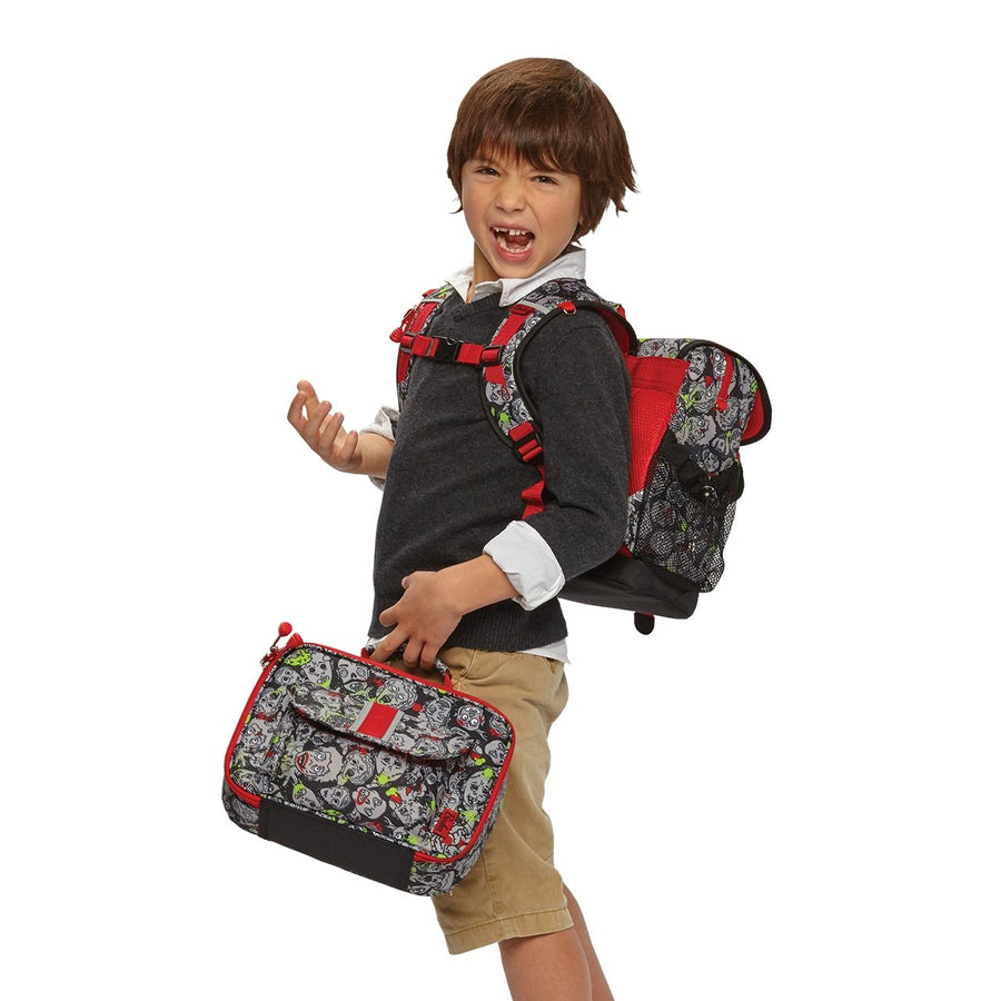 Large Zombie Camo Backpack & Lunchbox Bundle
