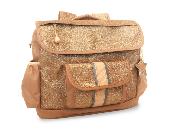 """Sparkalicious Gold"" Backpack - Small - Bixbee"