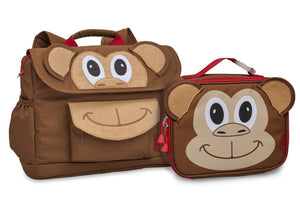 Monkey Pack  & Lunchbox Bundle - Bixbee