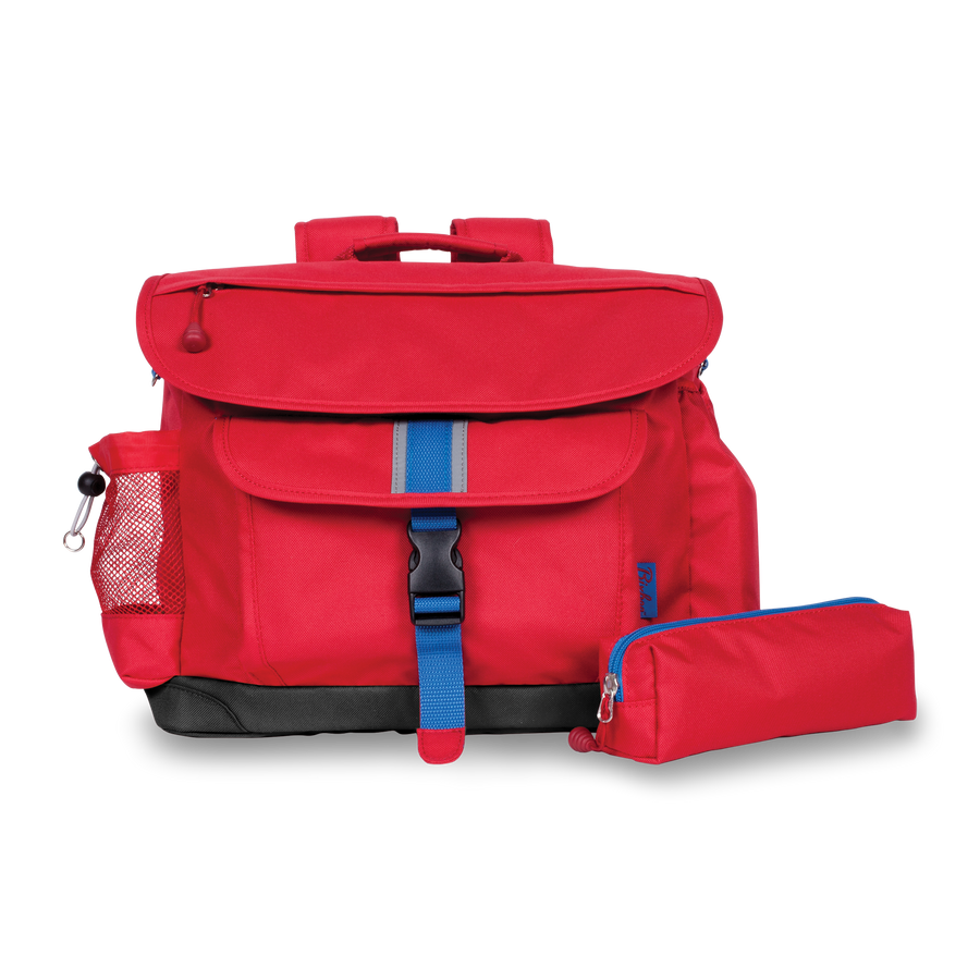 Signature Red - Backpack/Pencil Case Bundle