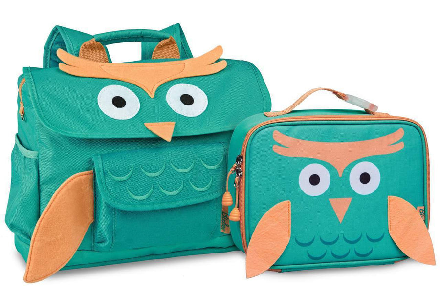 Owl Pack  & Lunchbox Bundle - Bixbee