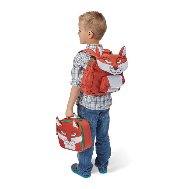 """Fox Pack"" Backpack  & Lunchbox Bundle - Bixbee"
