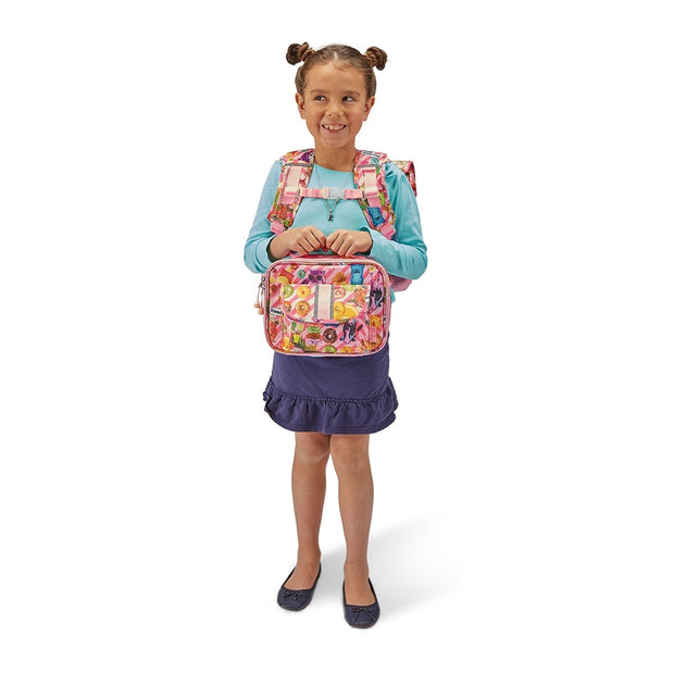 """Funtastical"" Backpack & Lunchbox Bundle - Large - Bixbee"