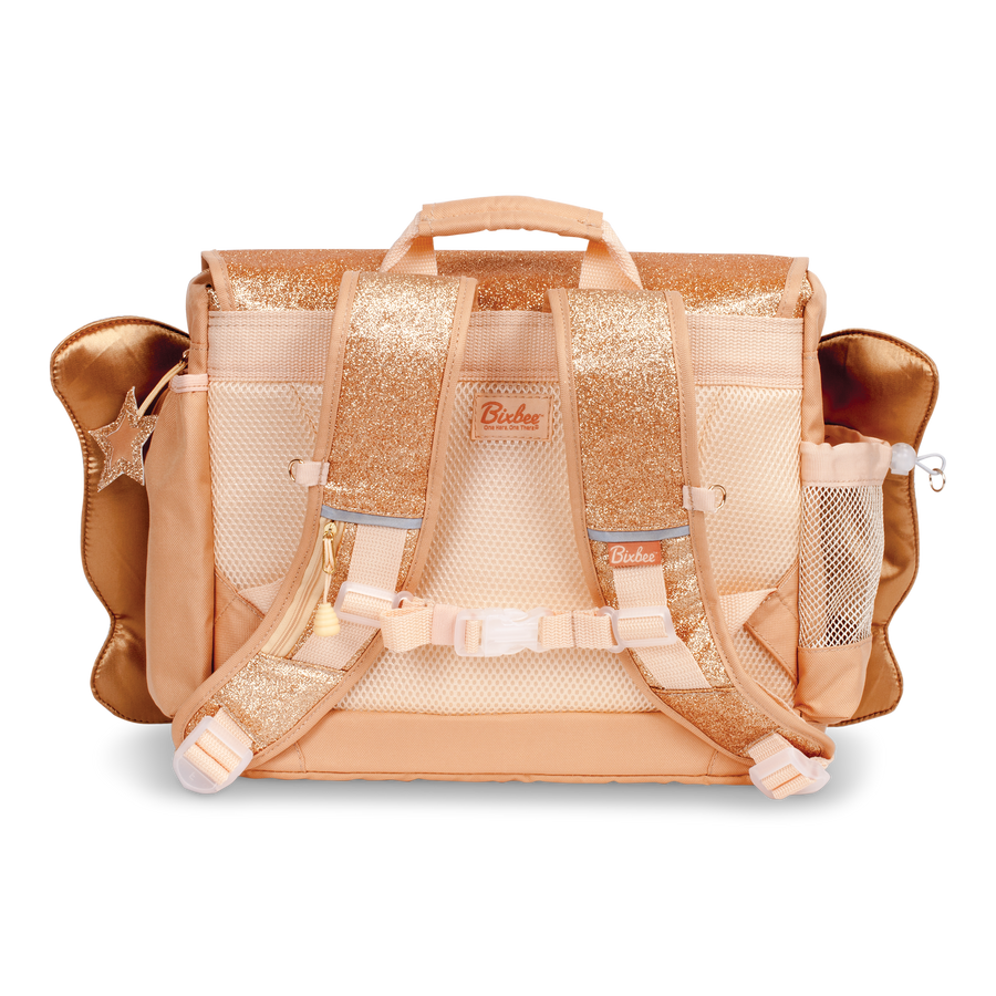 Medium Sparkalicious Gold Butterflyer Backpack & Lunchbox Bundle