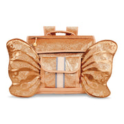 """Sparkalicious Gold Butterflyer"" Backpack - Small - Bixbee"